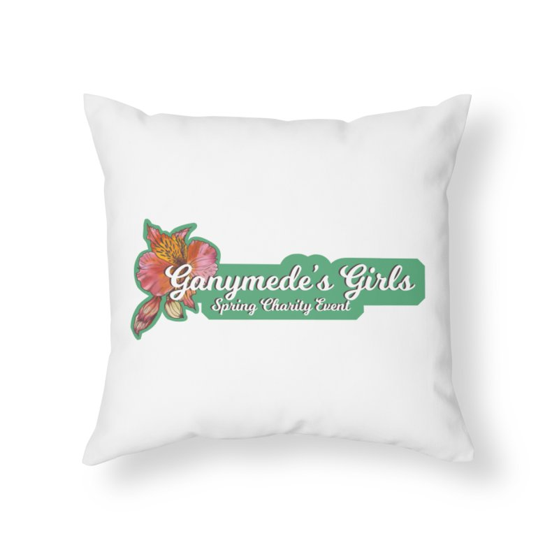 Spring Charity 2019 Home Throw Pillow by ganymedesgirlscommunity's Artist Shop