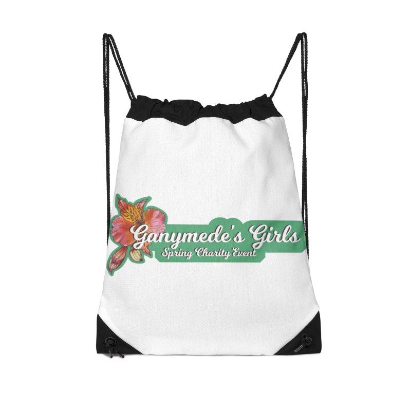 Spring Charity 2019 Accessories Drawstring Bag Bag by ganymedesgirlscommunity's Artist Shop
