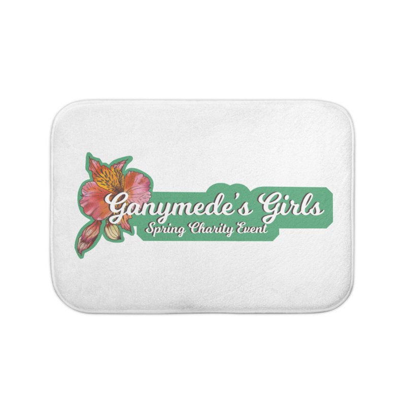Spring Charity 2019 Home Bath Mat by ganymedesgirlscommunity's Artist Shop