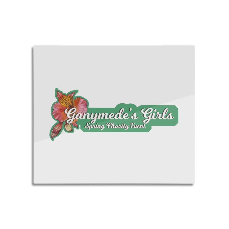 Spring Charity 2019 Home Mounted Aluminum Print by ganymedesgirlscommunity's Artist Shop