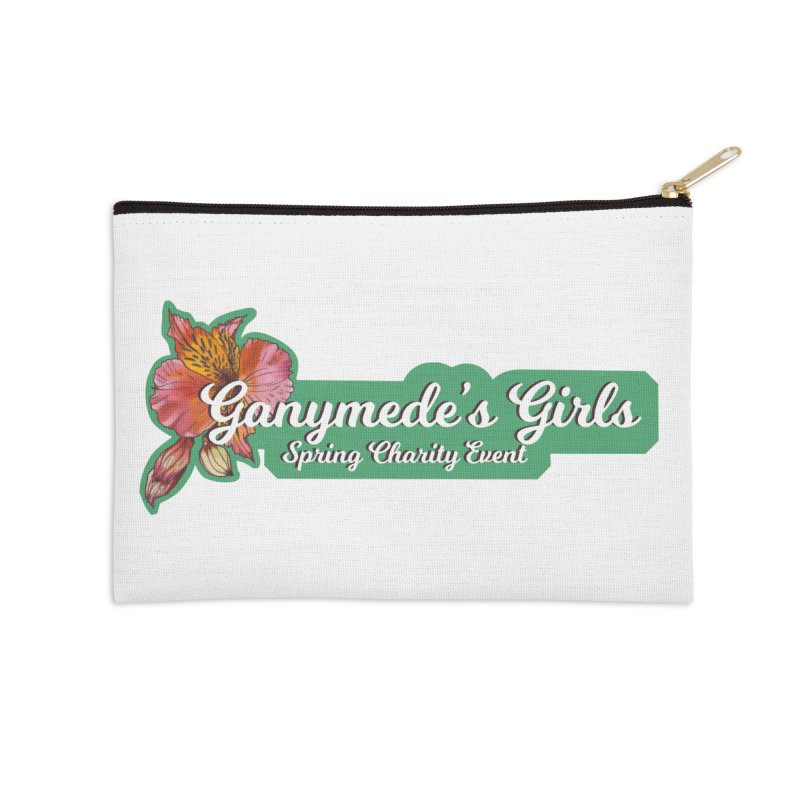 Spring Charity 2019 Accessories Zip Pouch by ganymedesgirlscommunity's Artist Shop