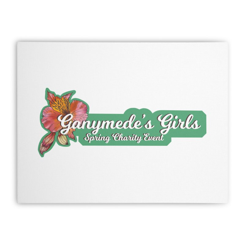 Spring Charity 2019 Home Stretched Canvas by ganymedesgirlscommunity's Artist Shop