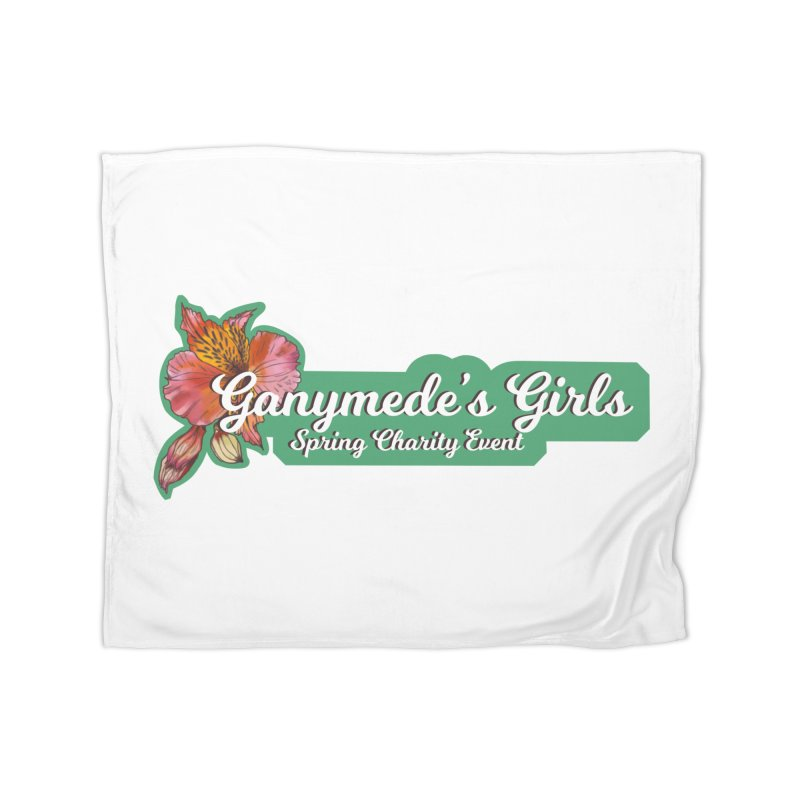 Spring Charity 2019 Home Fleece Blanket Blanket by ganymedesgirlscommunity's Artist Shop