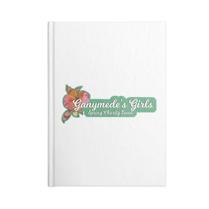 Spring Charity 2019 Accessories Blank Journal Notebook by ganymedesgirlscommunity's Artist Shop