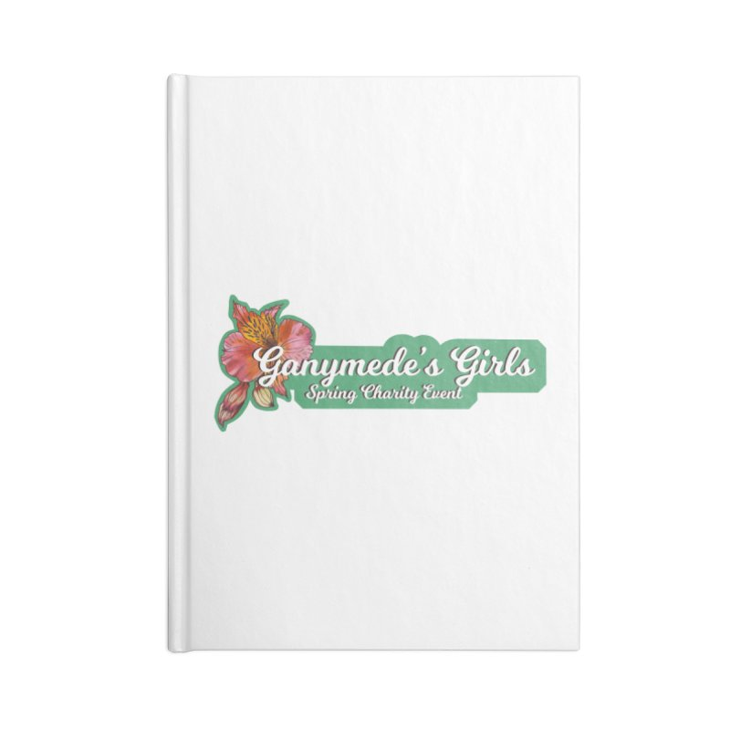 Spring Charity 2019 Accessories Lined Journal Notebook by ganymedesgirlscommunity's Artist Shop