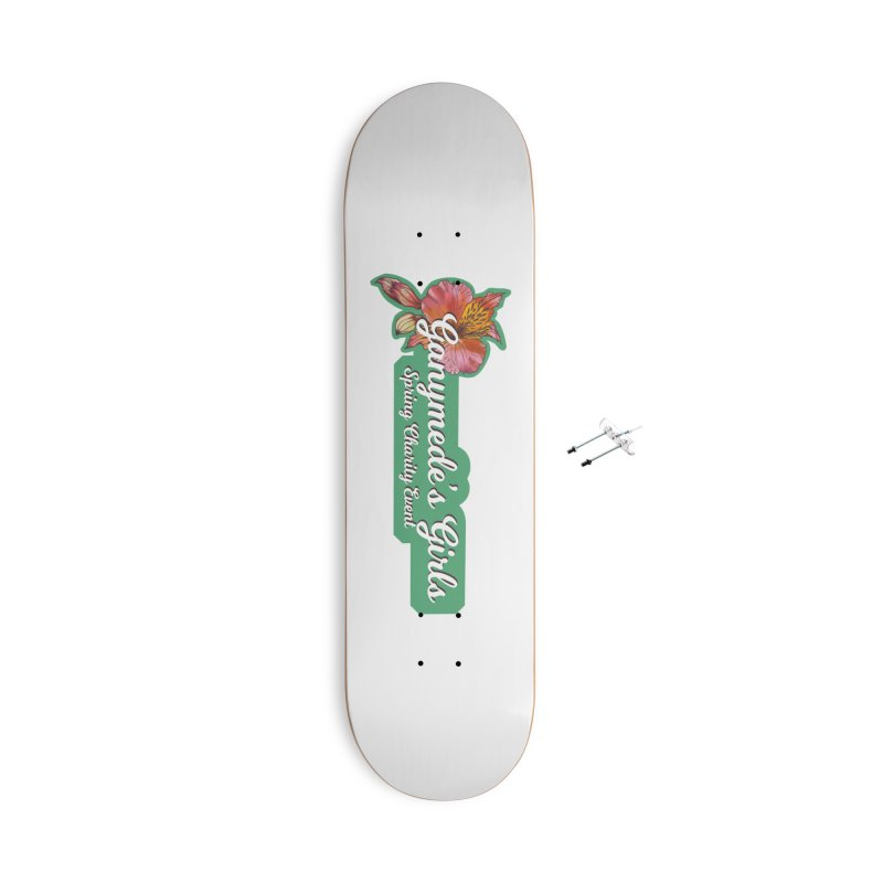 Spring Charity 2019 Accessories With Hanging Hardware Skateboard by ganymedesgirlscommunity's Artist Shop
