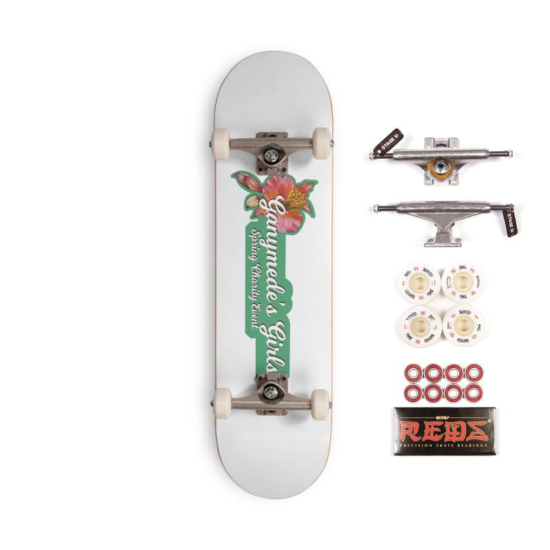 Spring Charity 2019 Accessories Complete - Pro Skateboard by ganymedesgirlscommunity's Artist Shop