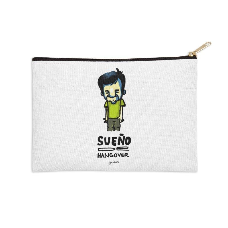 Sueño de Hangover Accessories Zip Pouch by garabato's Artist Shop