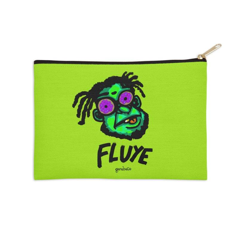 Fluye Accessories Zip Pouch by garabato's Artist Shop