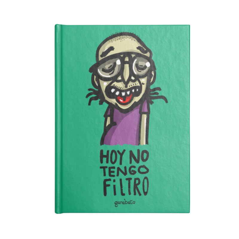 Sin filtro Accessories Notebook by garabato's Artist Shop