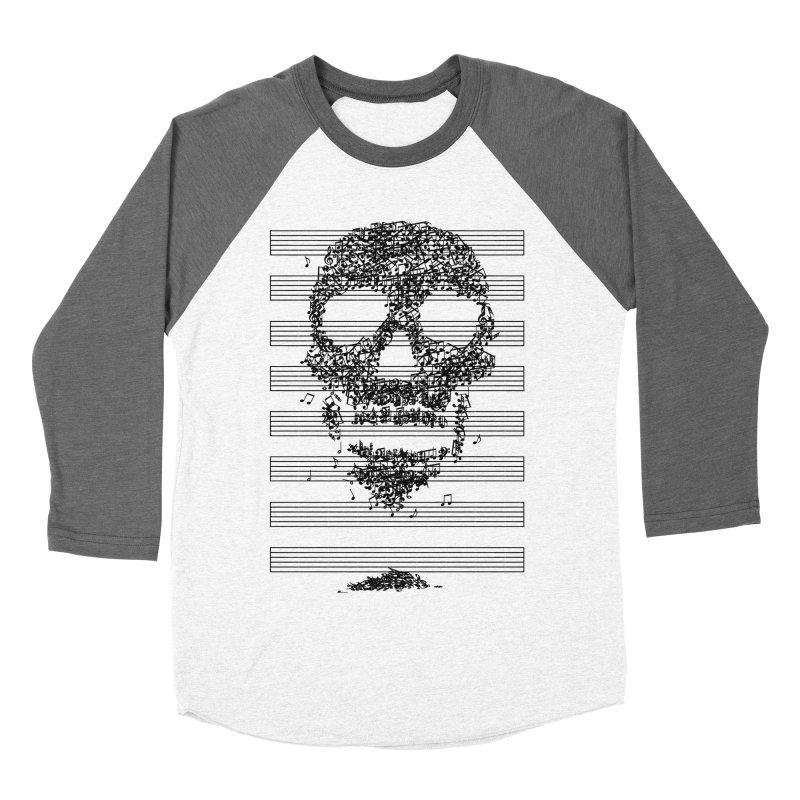 Death Song Women's Baseball Triblend T-Shirt by garabattos's Artist Shop
