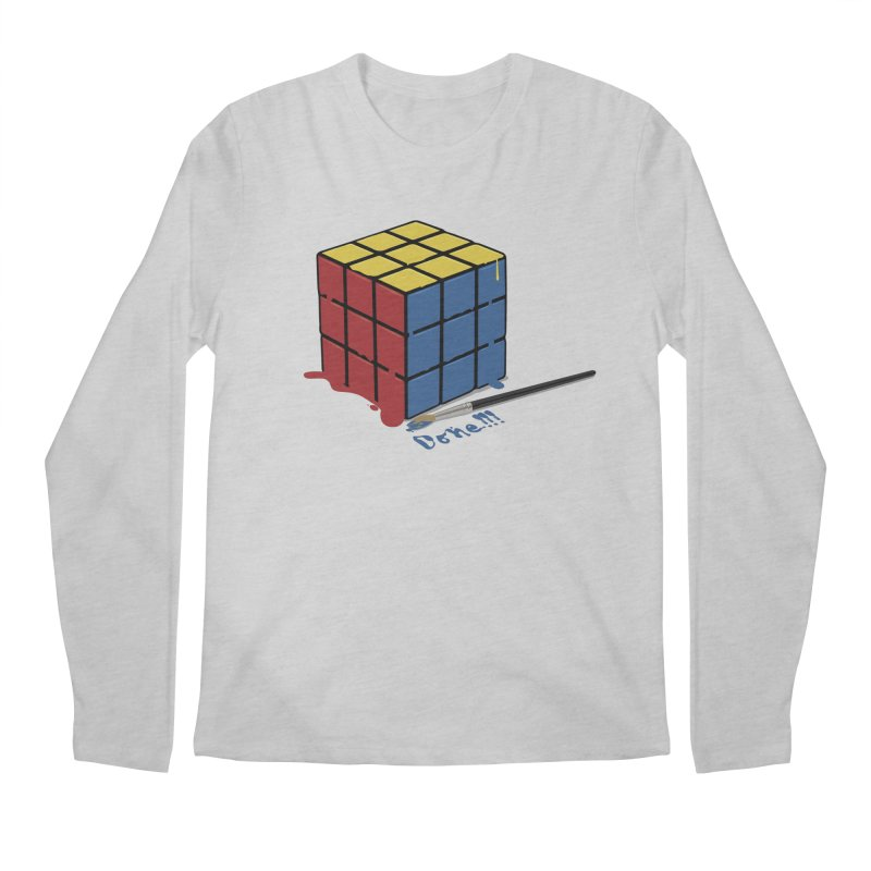 Done!!! Men's Longsleeve T-Shirt by garabattos's Artist Shop