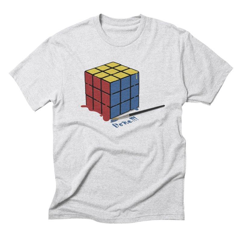 Done!!! Men's Triblend T-Shirt by garabattos's Artist Shop