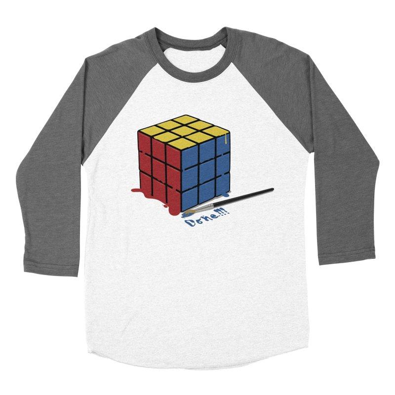 Done!!! Men's Baseball Triblend T-Shirt by garabattos's Artist Shop