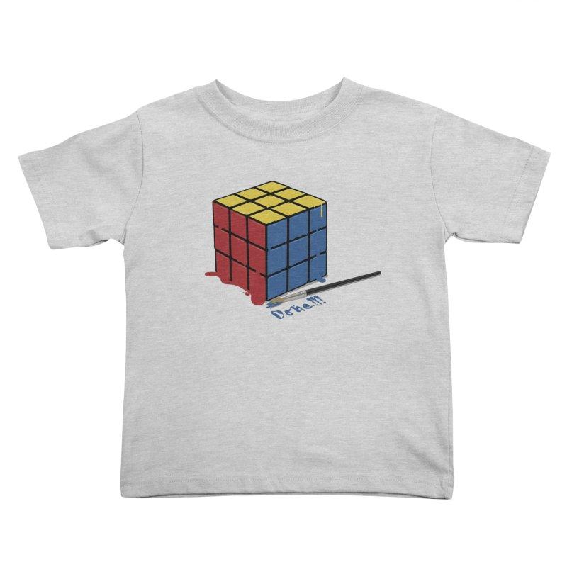 Done!!! Kids Toddler T-Shirt by garabattos's Artist Shop