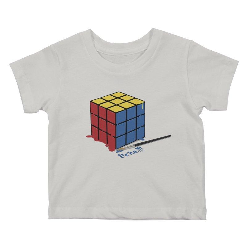 Done!!! Kids Baby T-Shirt by garabattos's Artist Shop