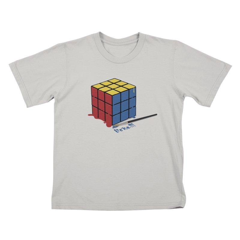 Done!!! Kids T-shirt by garabattos's Artist Shop