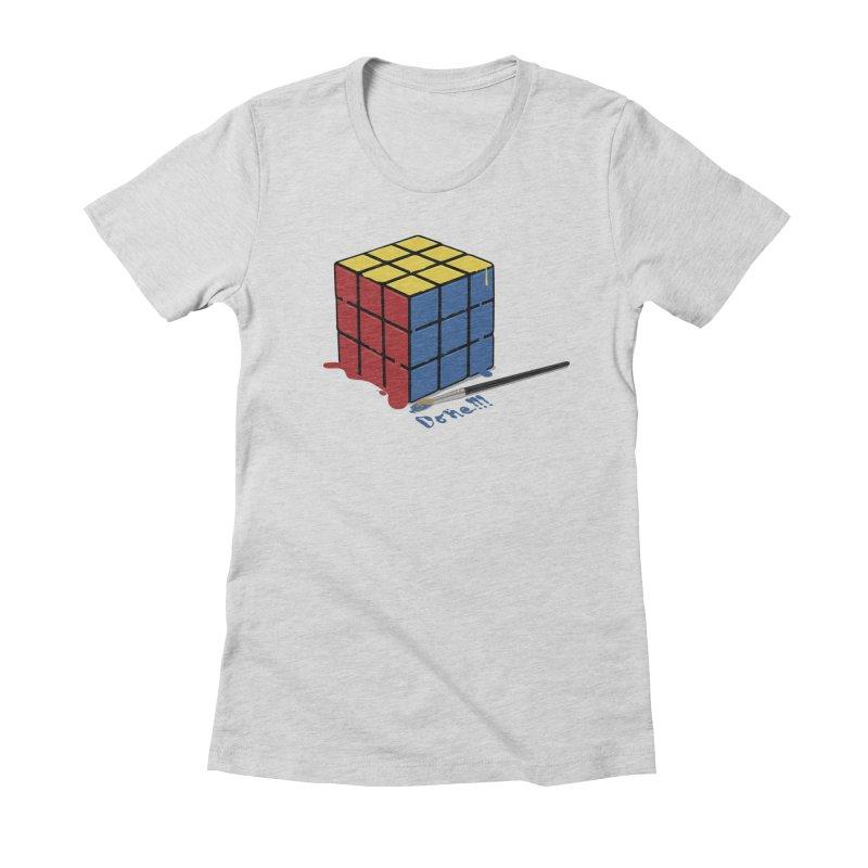 Done!!! Women's Fitted T-Shirt by garabattos's Artist Shop