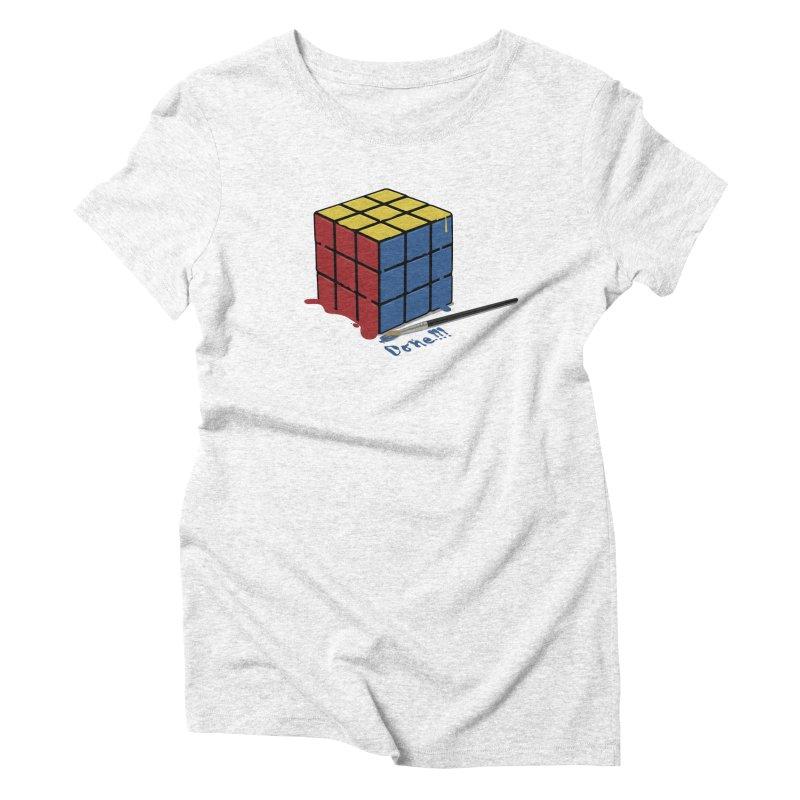 Done!!! Women's Triblend T-shirt by garabattos's Artist Shop