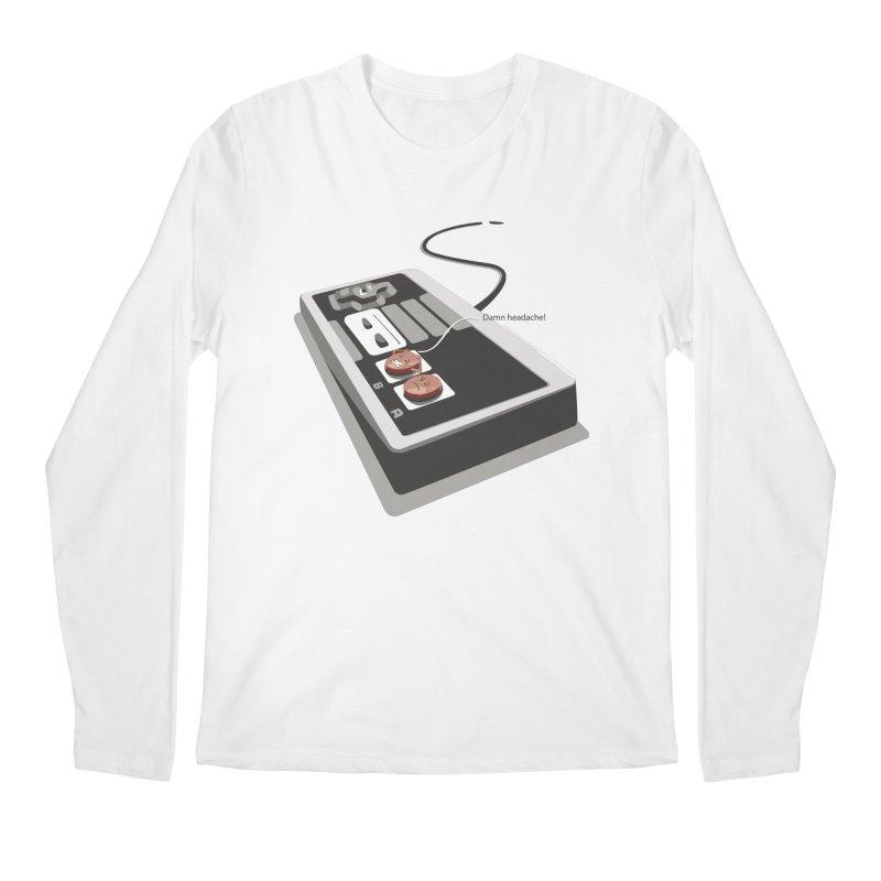 Headache Men's Longsleeve T-Shirt by garabattos's Artist Shop
