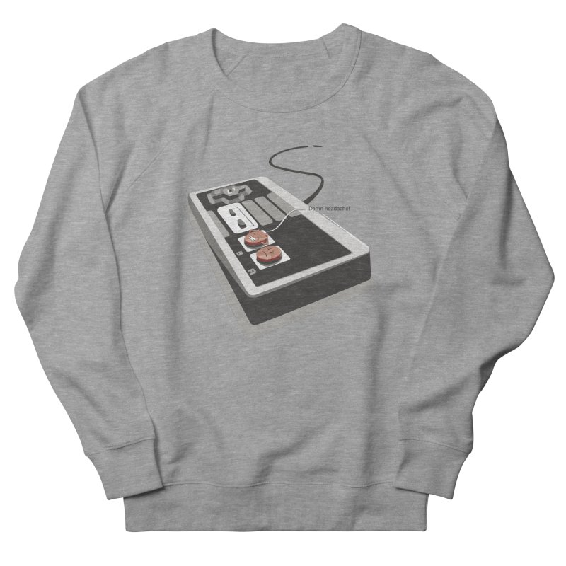 Headache Men's Sweatshirt by garabattos's Artist Shop