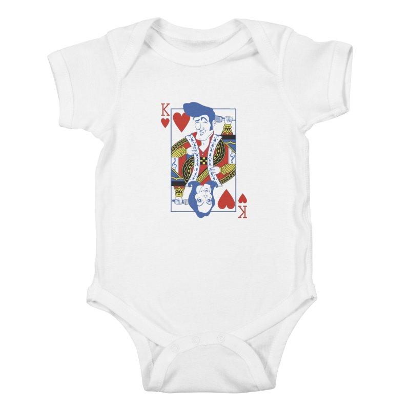 Kings of hearts Kids Baby Bodysuit by garabattos's Artist Shop