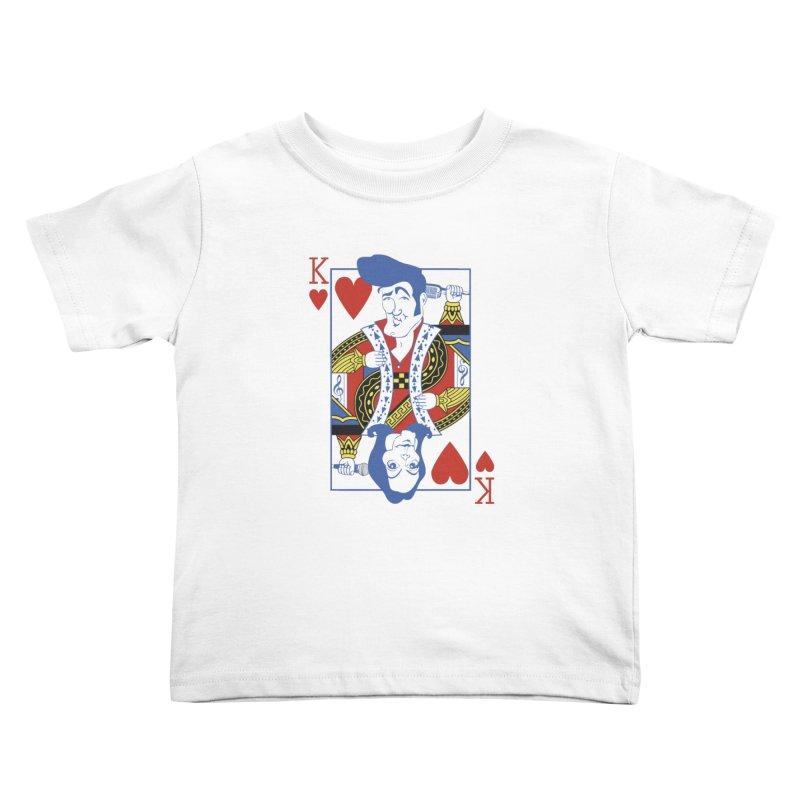 Kings of hearts Kids Toddler T-Shirt by garabattos's Artist Shop