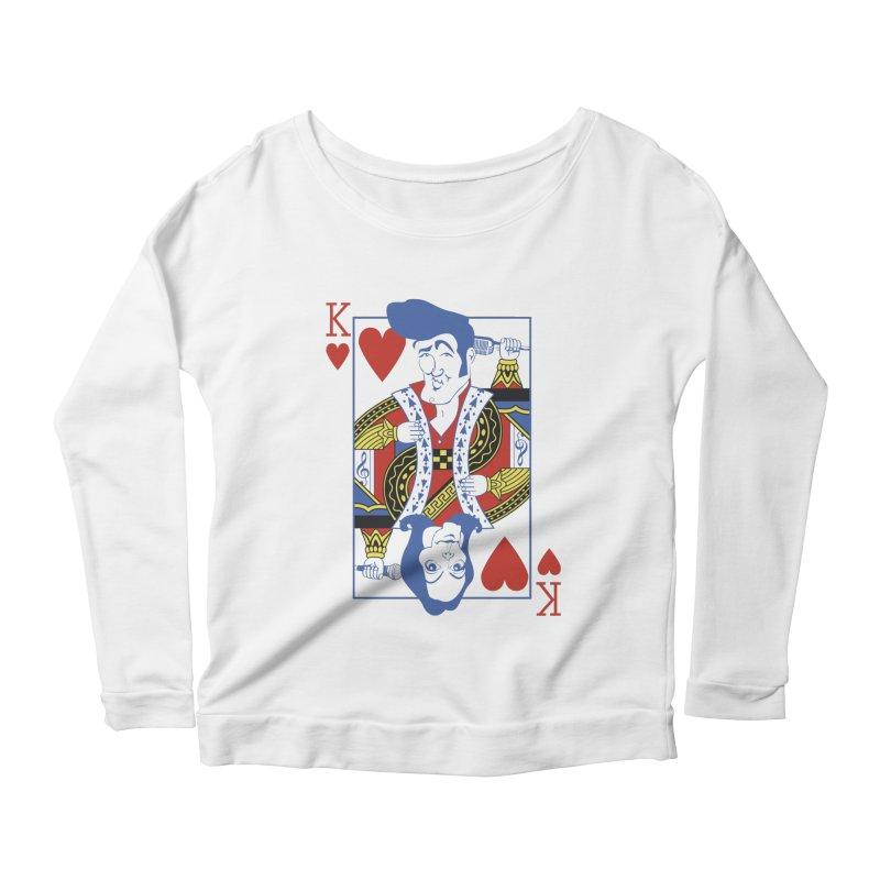 Kings of hearts Women's Longsleeve Scoopneck  by garabattos's Artist Shop