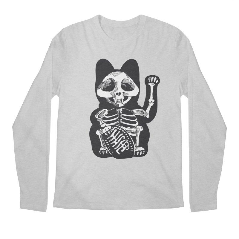 Maneki neko Men's Longsleeve T-Shirt by garabattos's Artist Shop