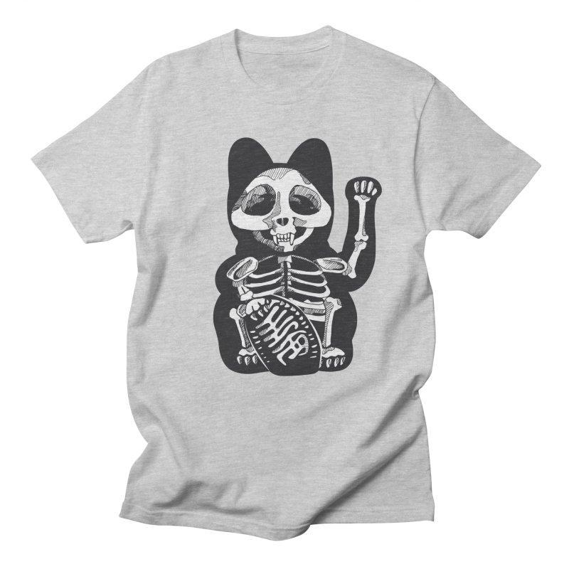 Maneki neko Men's T-Shirt by garabattos's Artist Shop