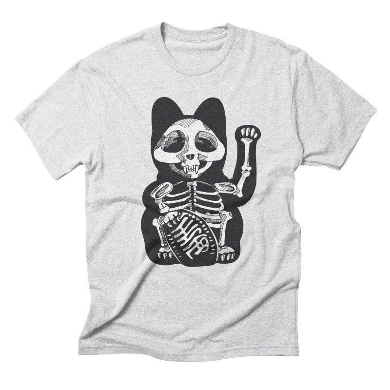 Maneki neko Men's Triblend T-Shirt by garabattos's Artist Shop
