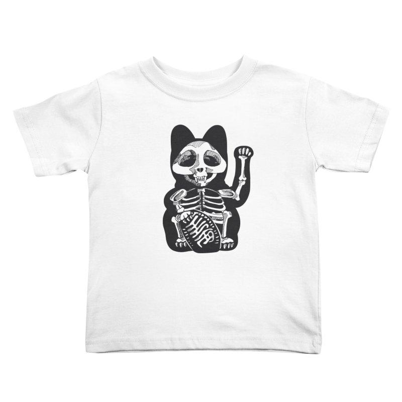 Maneki neko Kids Toddler T-Shirt by garabattos's Artist Shop