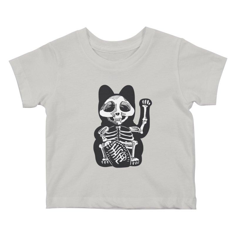 Maneki neko Kids Baby T-Shirt by garabattos's Artist Shop