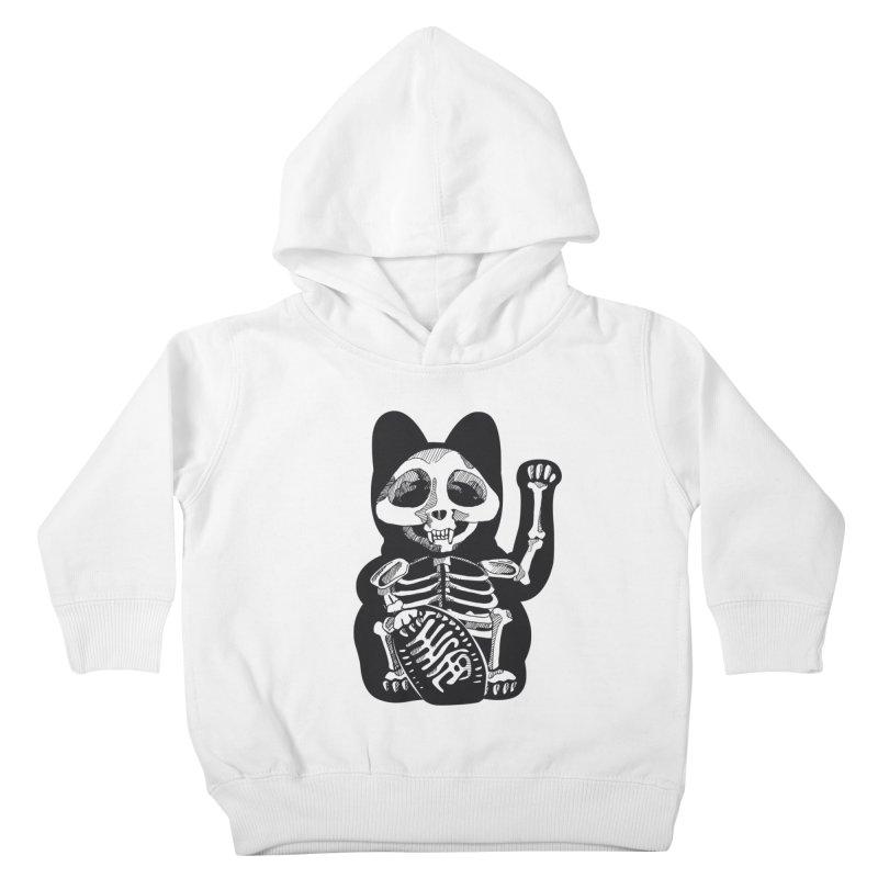 Maneki neko Kids Toddler Pullover Hoody by garabattos's Artist Shop