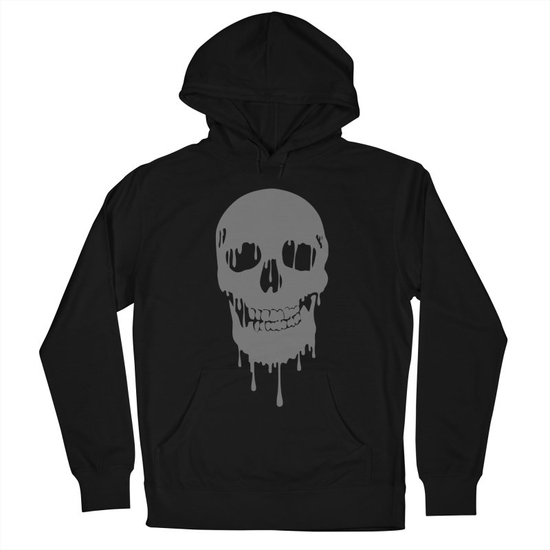Melted skull Women's Pullover Hoody by garabattos's Artist Shop