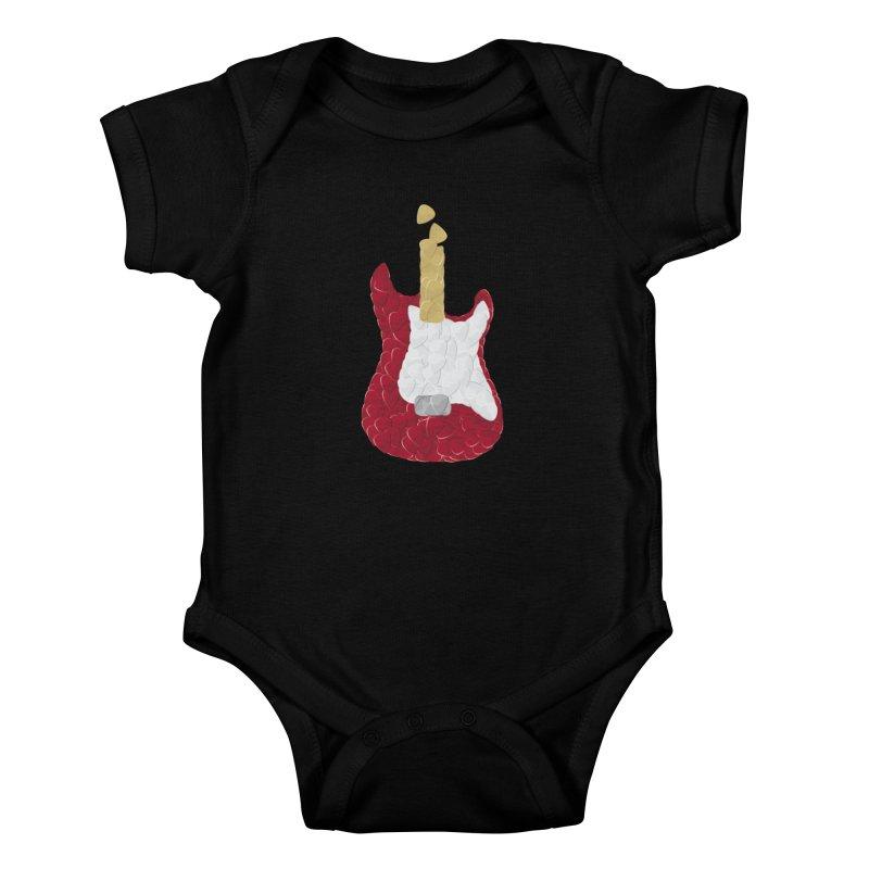 Rock yourself out Kids Baby Bodysuit by garabattos's Artist Shop