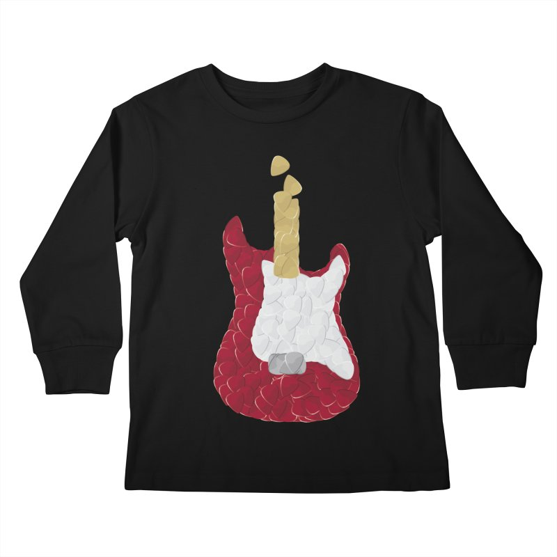 Rock yourself out Kids Longsleeve T-Shirt by garabattos's Artist Shop