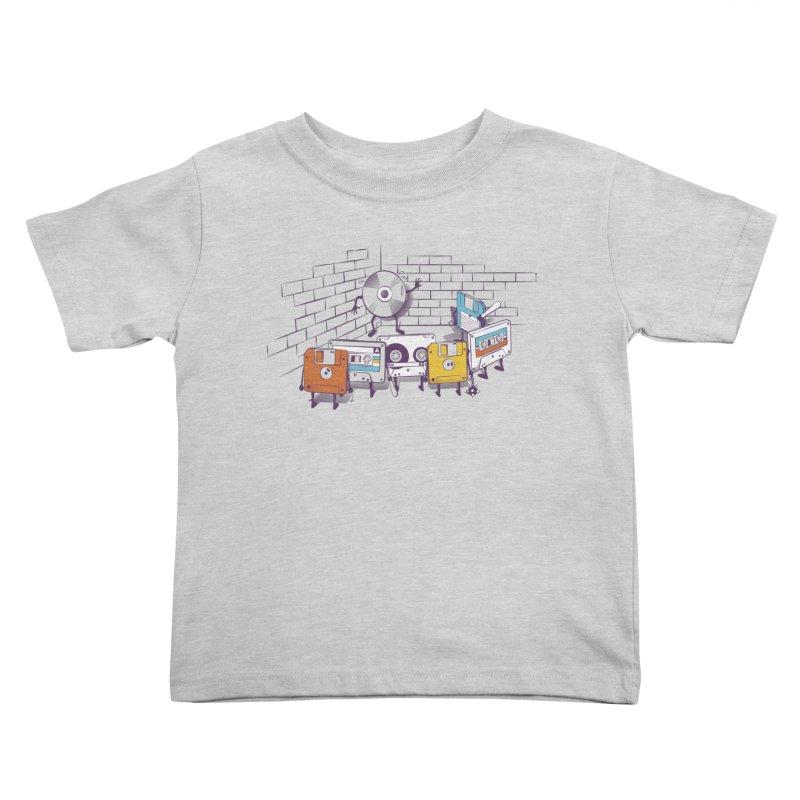 Reckoning Kids Toddler T-Shirt by garabattos's Artist Shop