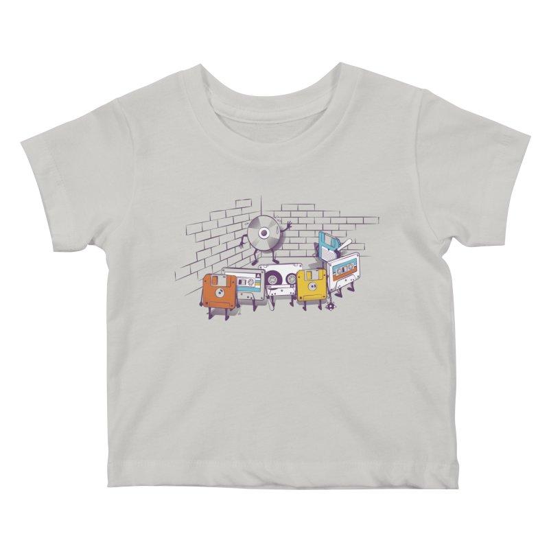 Reckoning Kids Baby T-Shirt by garabattos's Artist Shop