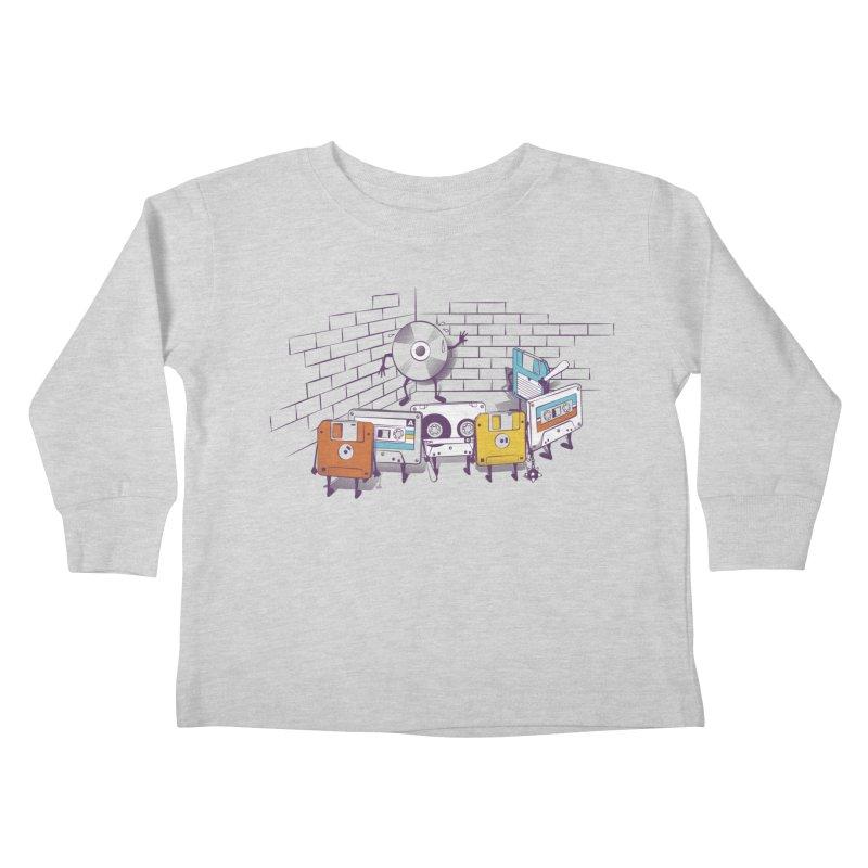 Reckoning Kids Toddler Longsleeve T-Shirt by garabattos's Artist Shop