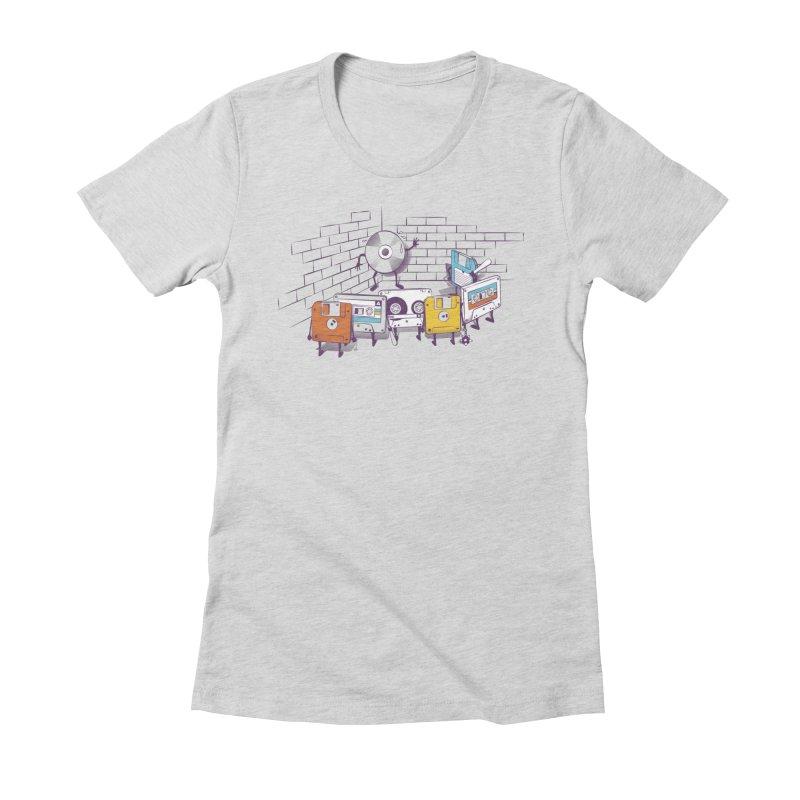 Reckoning Women's Fitted T-Shirt by garabattos's Artist Shop