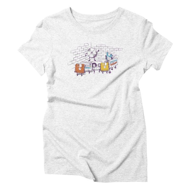 Reckoning Women's Triblend T-shirt by garabattos's Artist Shop