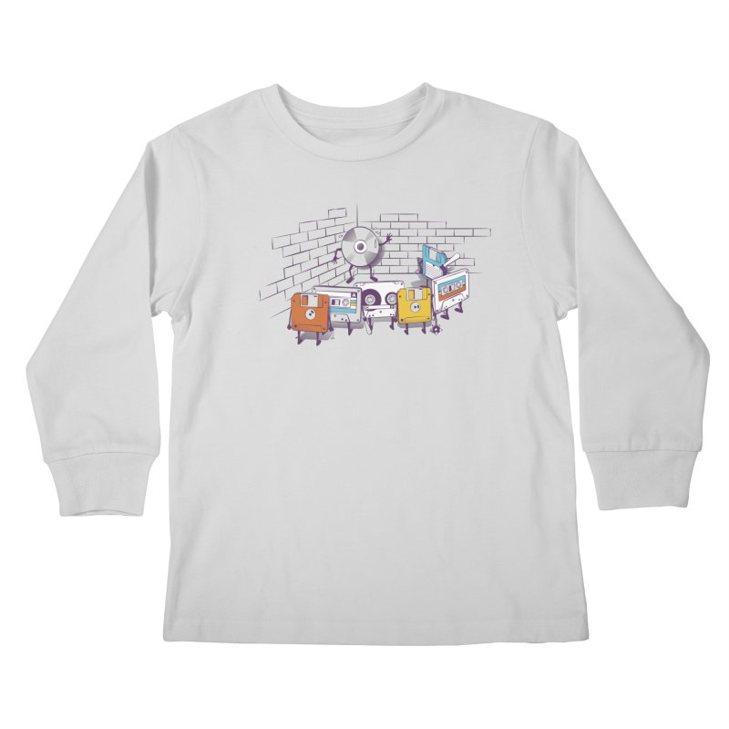 Reckoning Kids Longsleeve T-Shirt by garabattos's Artist Shop