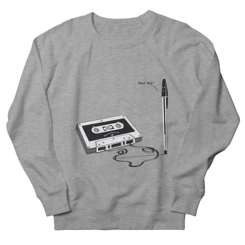Need help? Men's Sweatshirt by garabattos's Artist Shop
