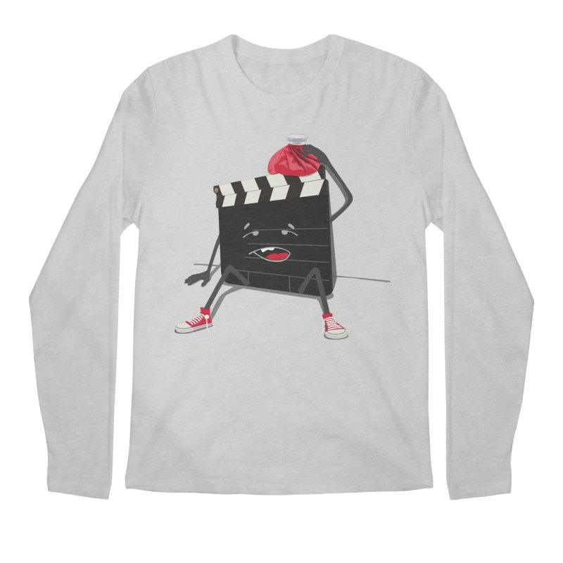 No more takes Men's Longsleeve T-Shirt by garabattos's Artist Shop