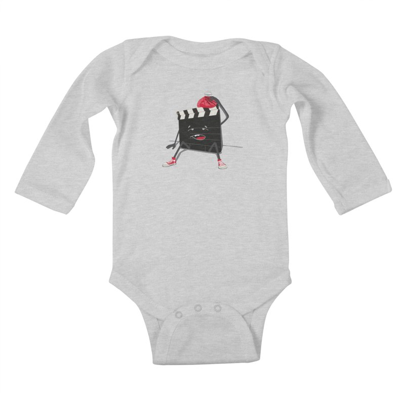 No more takes Kids Baby Longsleeve Bodysuit by garabattos's Artist Shop