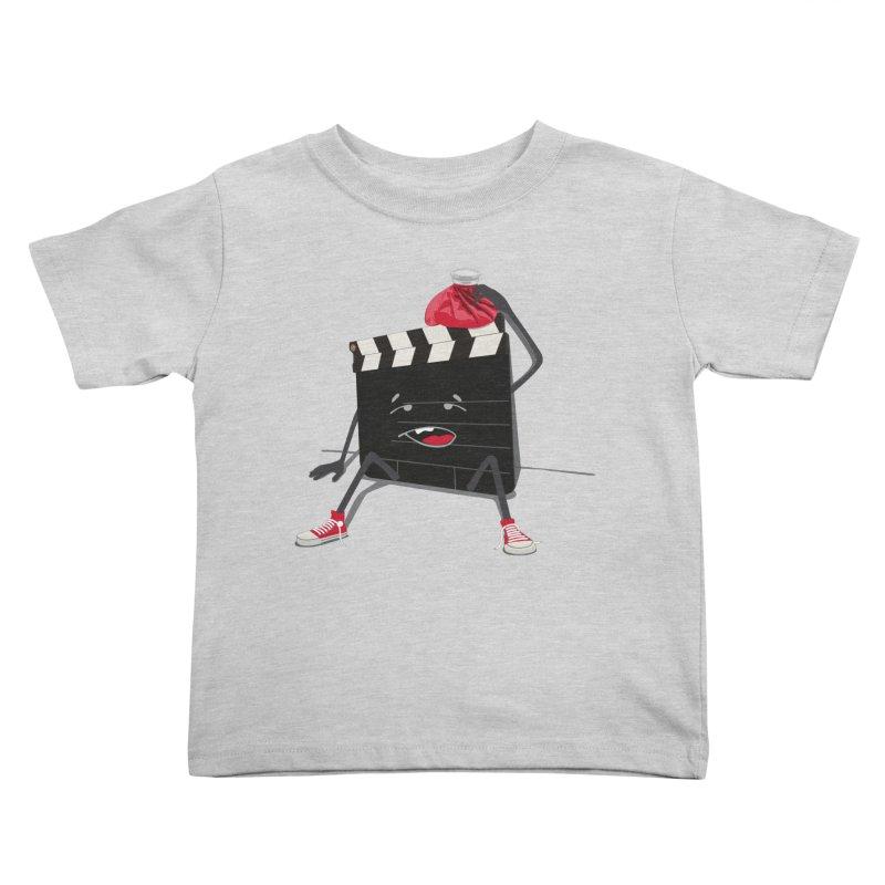 No more takes Kids Toddler T-Shirt by garabattos's Artist Shop