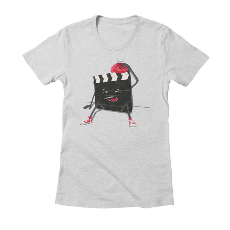 No more takes Women's Fitted T-Shirt by garabattos's Artist Shop