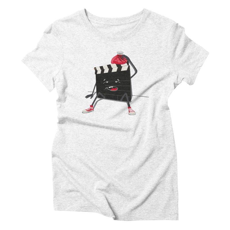 No more takes Women's Triblend T-shirt by garabattos's Artist Shop