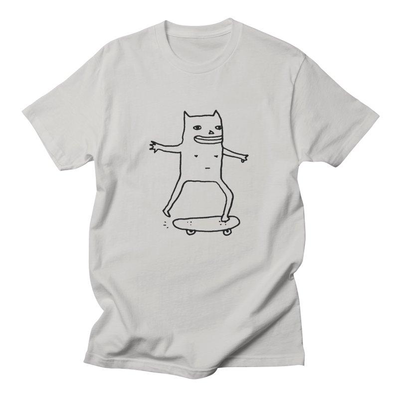 Naked Skate Men's T-Shirt by Garbage Party's Trash Talk & Apparel Shop